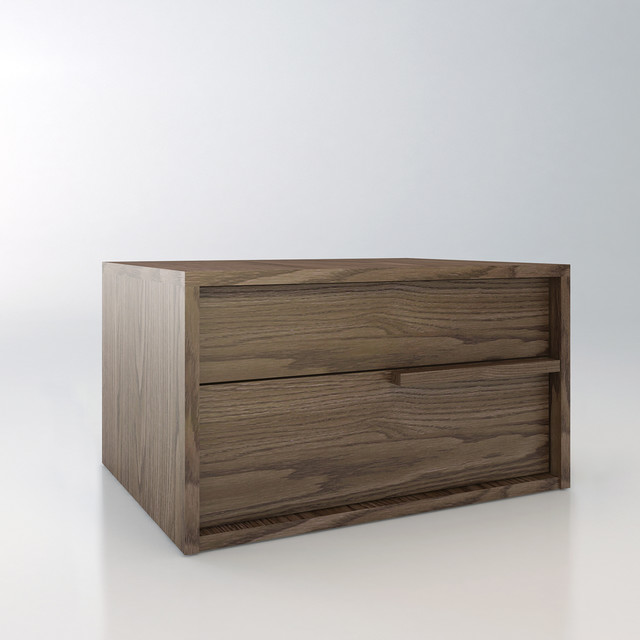 Jane contemporary modern nightstand by modloft for Modern bedside tables nightstands