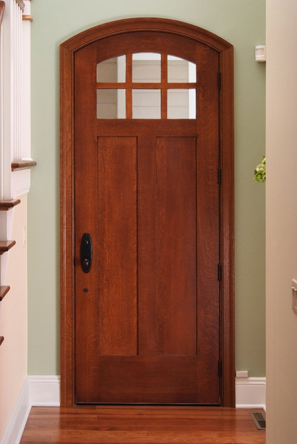 Custom Exterior Quartersawn White Oak Door - Craftsman ...