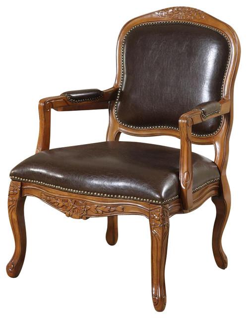 Napolian accent chair cl sico sillones y butacas de - Butacas y sillones ...