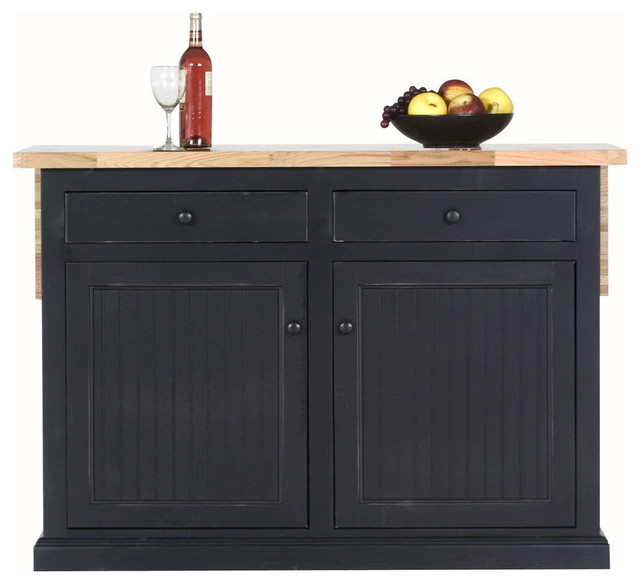 Kitchen Island, Midnight Blue traditional kitchen islands and kitchen