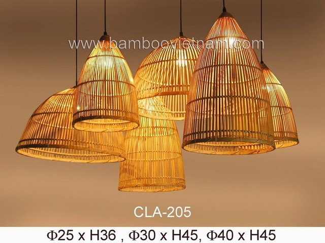 Bamboo Ceiling Lamps