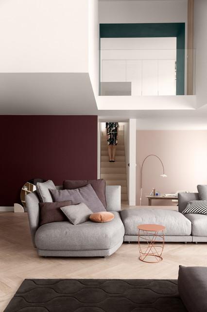 rolf benz tondo minimalistisch eck modulsofas. Black Bedroom Furniture Sets. Home Design Ideas