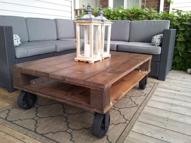Industrial Pallet Coffee Tables Modern Coffee Tables