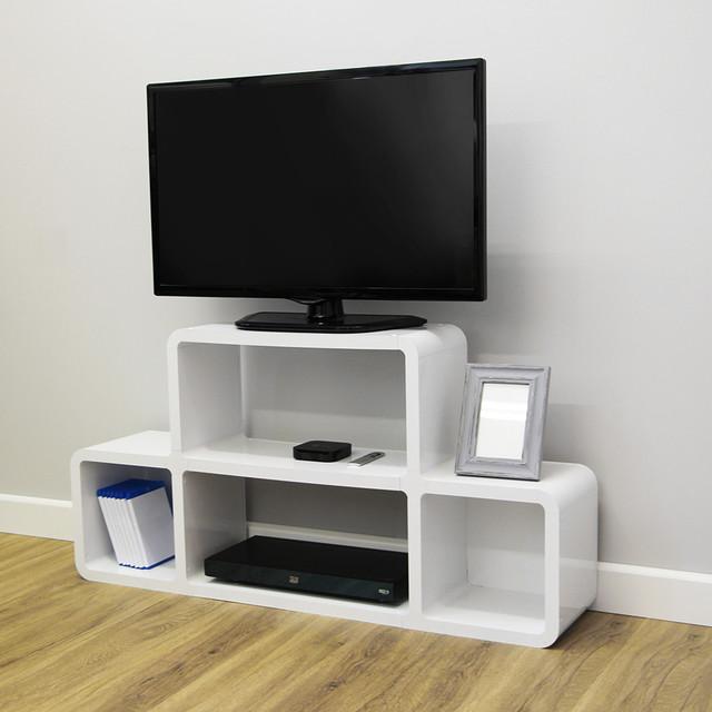 Modern Media Unit: Media Unit Style 2 - Modern - TV Stands & Units