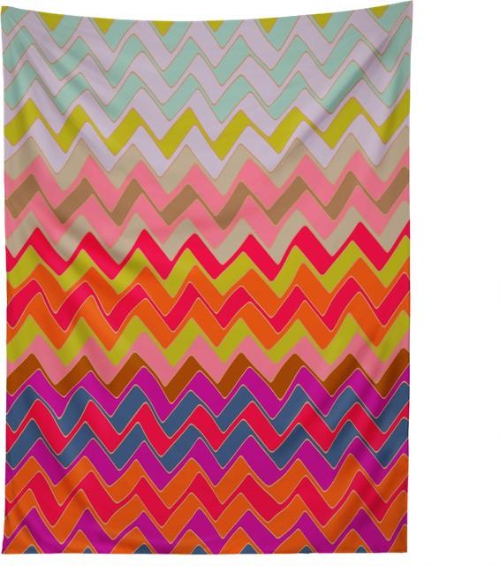 deny designs sharon turner geo chevron tapestry modern wandteppiche. Black Bedroom Furniture Sets. Home Design Ideas
