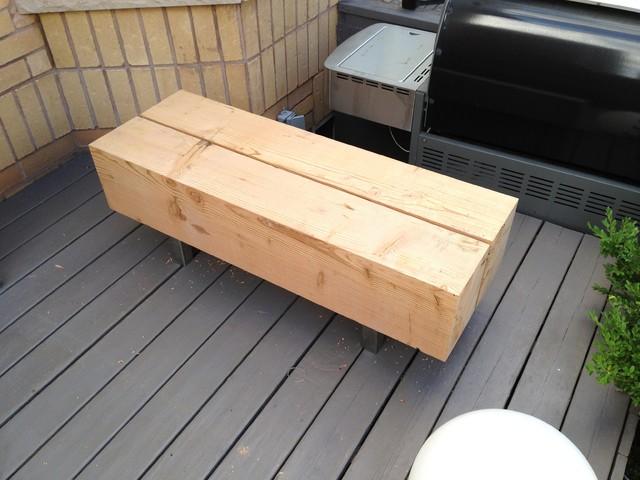 Modern Douglas Fir Bench Modern Garden Benches