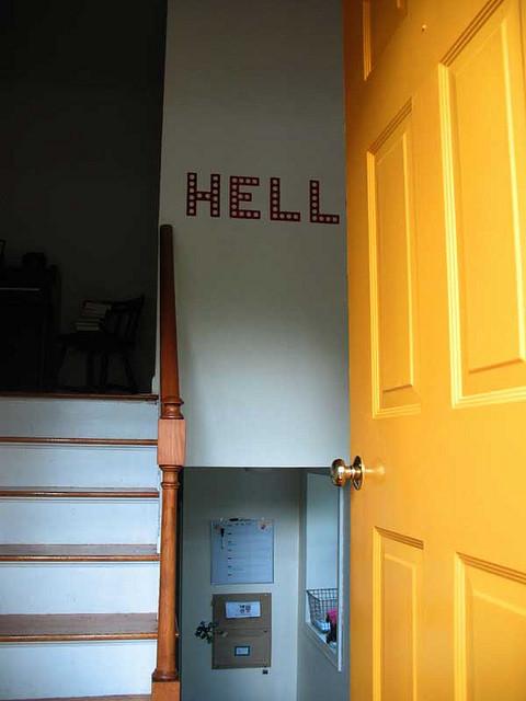 Foyer Hallway Questions : Entryway decor question