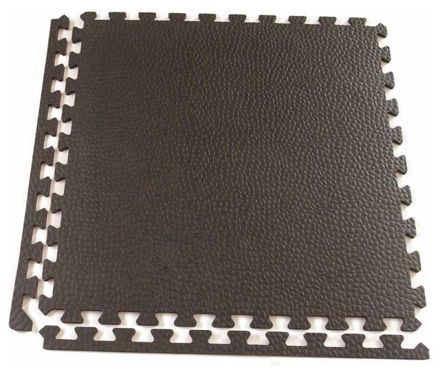 Greatmats home gym duro lite interlocking foam floor tile