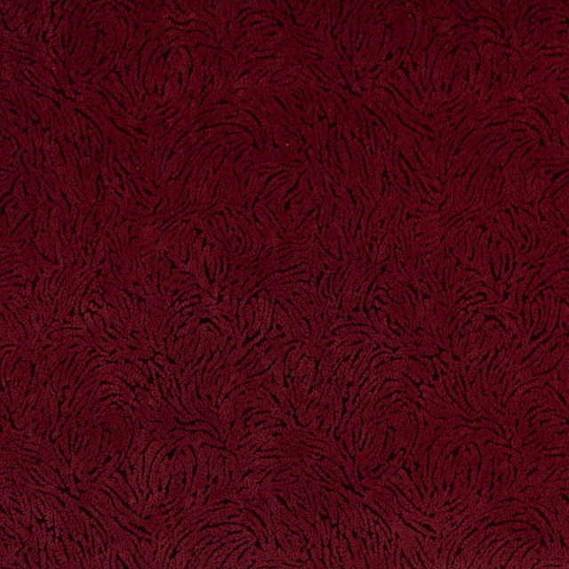 Burgundy Abstract Microfiber Stain Resistant Upholstery