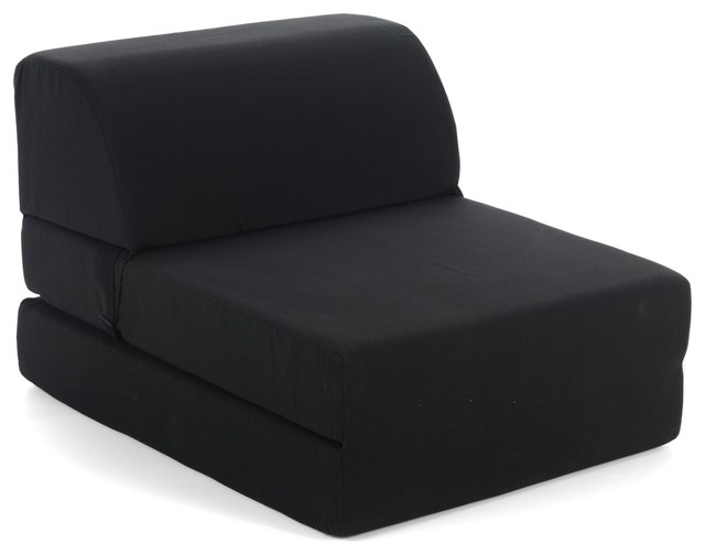 New casper chauffeuse 1 place contemporain fauteuil - Pouf convertible 1 place ...