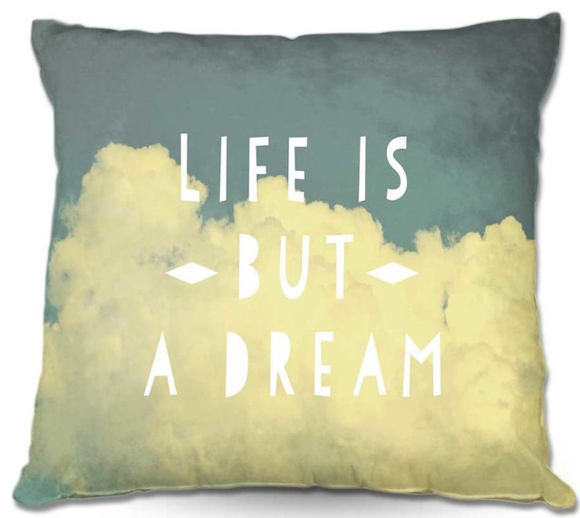 Dianoche outdoor pillows rachel burbees life is but a - Aufbewahrung gartenpolster ...