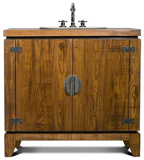 Mesa sink base rustic bathroom vanities and sink for J tribble bathroom vanities