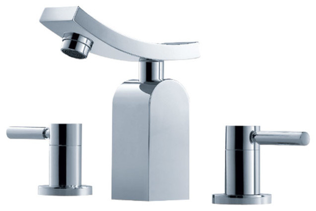 Three Hole Bathroom Sink Faucet : All Products / Bath / Bathroom Faucets / Bathroom Sink Faucets