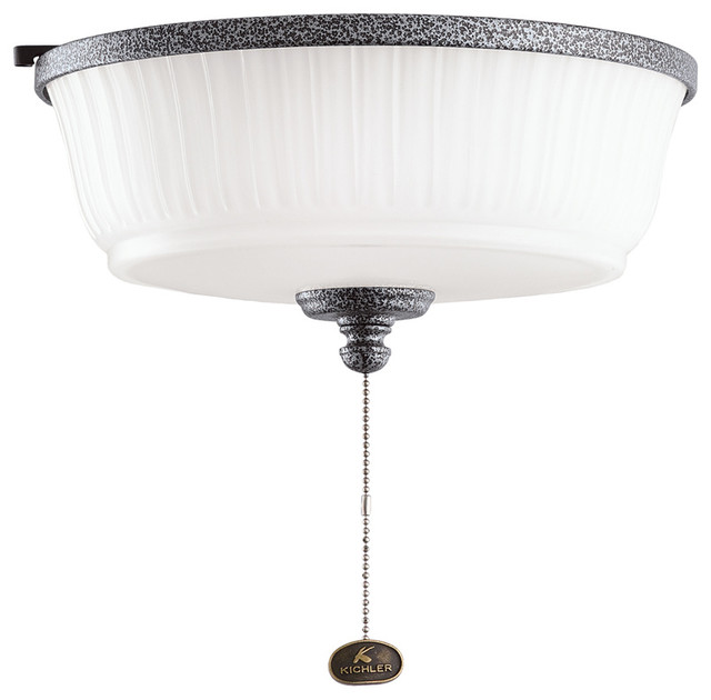 Kichler 380900WSP Outdoor Light Fixture Transitional Flush Mount Ceiling