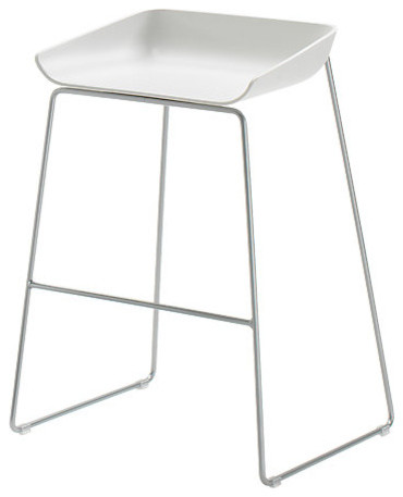 Scoop Stool Modern Bar Stools And Counter Stools