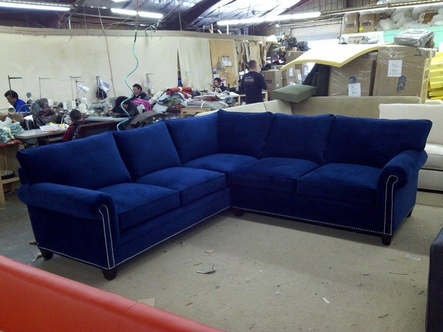 Carrollton Sectional Eclectic Sectional Sofas Dallas