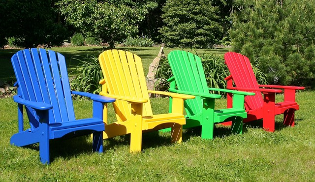 Gallery For gt Colorful Adirondack Chair