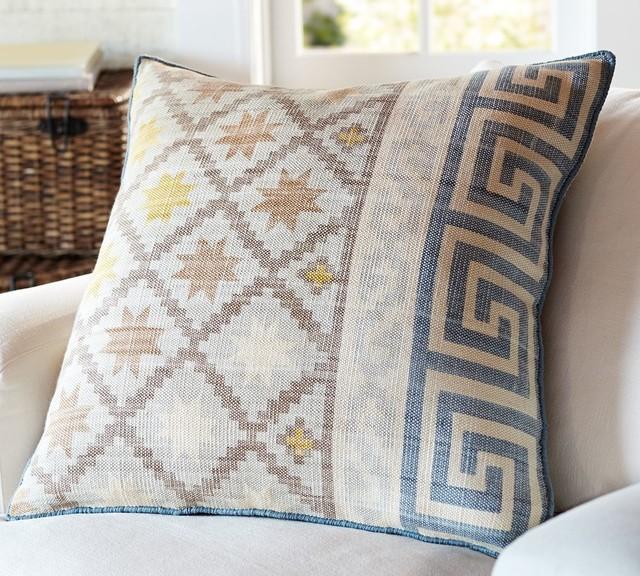 Traditional Decorative Pillows : Tullah Pillow Cover - Traditional - Decorative Pillows - other metro - by Pottery Barn