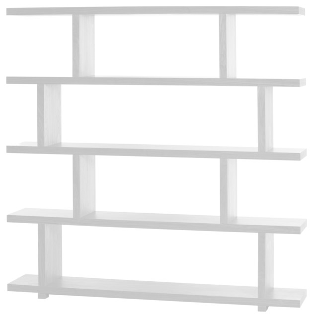 Miri Shelf, Large, White - Contemporary - Display And Wall ...