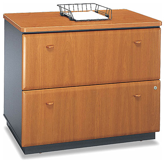 Assembled Lateral File Cabinet - Series A - Contemporary - Filing Cabinets - by ShopLadder