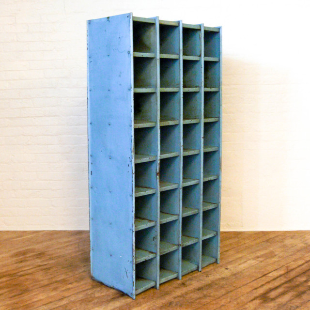 Industrial Pigeon Holed Cupboard industrial-shoe-storage
