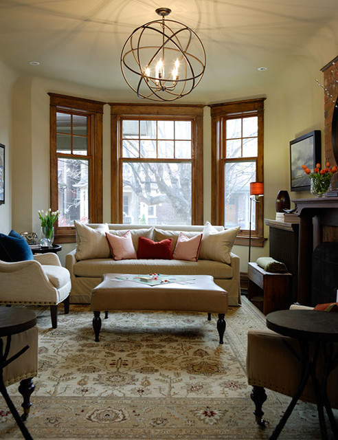 Riverdale Living Room Traditional Living Room