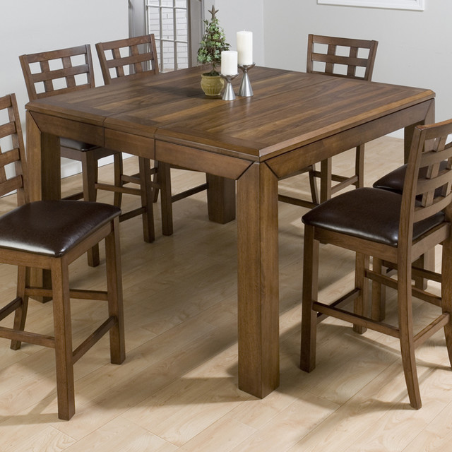 Counter Height Table Uk : ... Falls Walnut Counter Height Table w/ Leaf contemporary-dining-tables