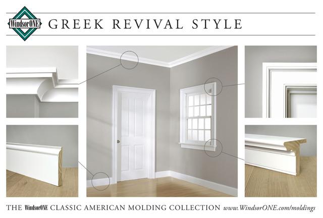 Windsorone Greek Revival Moldings Traditional Molding