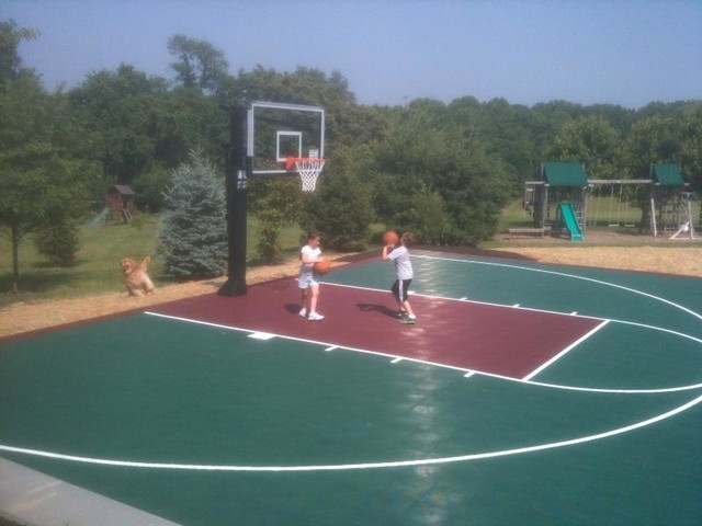Half-Court Basketball - Traditional - Landscape - DC Metro ...