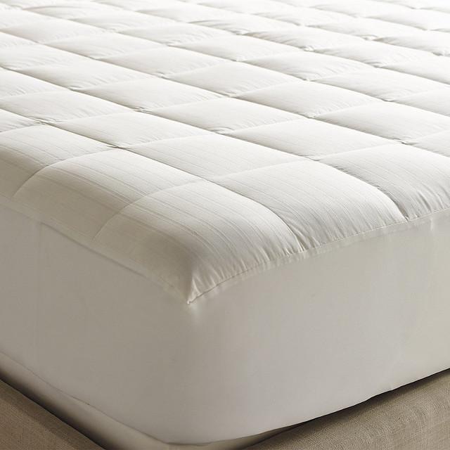 Luxury Down Mattress Pad Queen Contemporary Mattress Toppers And Pads By Frontgate