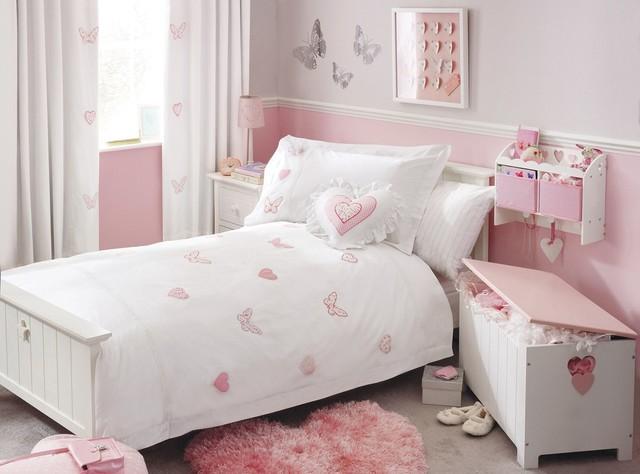 Hearts Butterflies Bed Set Modern Children 39 S Bedding By Next