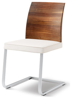 Stretto Walnut Back Contemporary Dining Chairs