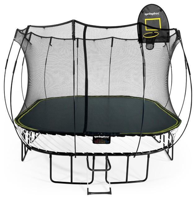 Springfree Trampoline Basketball Hoop - Bing images