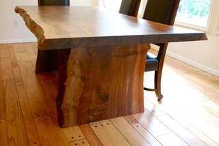 Modern Rustic Modern Dining Tables Other By Urban Lumber