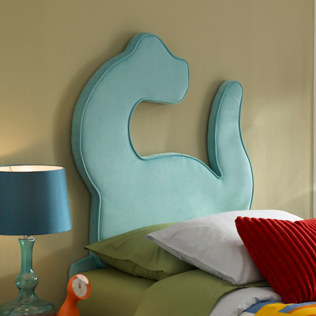Dinosaur Twin Size Headboard Modern Kids Beds Los