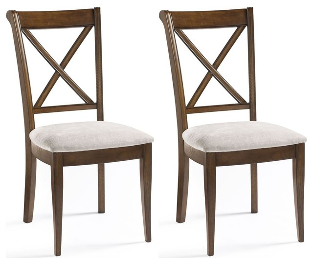 Bentley designs rochelle dining chair back pair