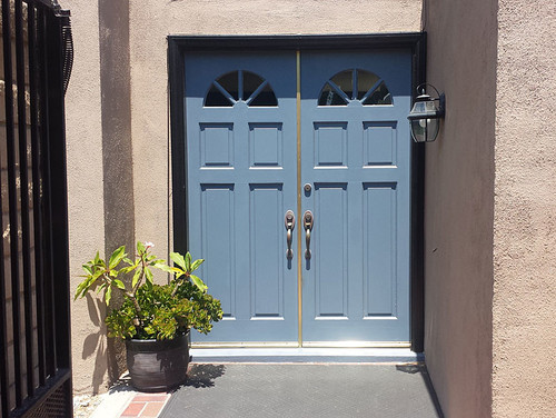 before after upgrade to double dutch entry doors