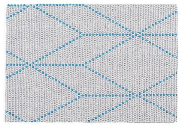 S b dot teppich big blue 120 x 170 cm hay design for Teppich skandinavisch design