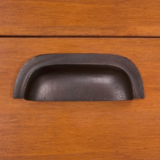 Solid Bronze Elongated Bin Pull - Traditional - Cabinet And Drawer ...