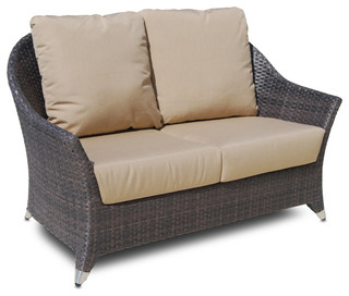 Skyline design malta love seat 2 seat contemporary for Garden love seat uk