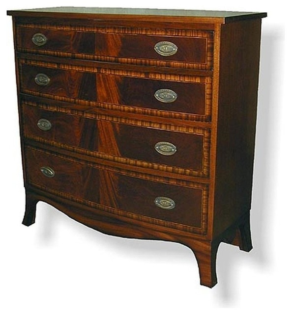 New Chest of Drawers English Banded Inlay - Traditional - Accent Chests And Cabinets
