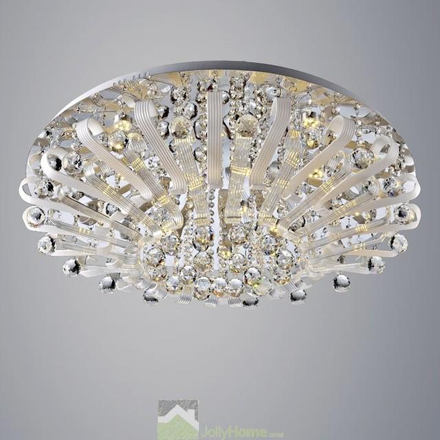 Bathroom Ceiling Lights Crystal Square : Modern fashion crystal celing lights living room square