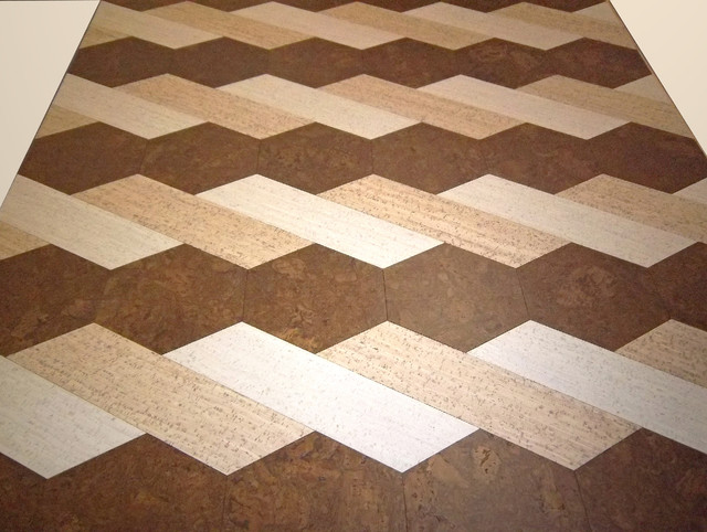 Cork flooring modern wall floor tiles new york for Cork floor tiles