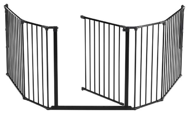 Babydan Flex Hearth Gate Extra Large 35 4 Quot 109 5 Quot White