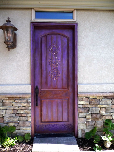 Faux Painted Doors Rustic Windows And Doors Portland