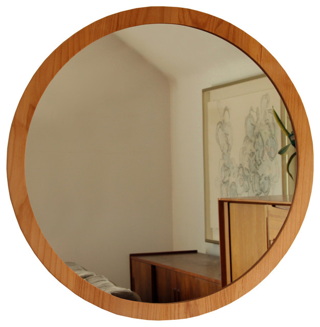 Round Wall Mirror Contemporary Wall Mirrors