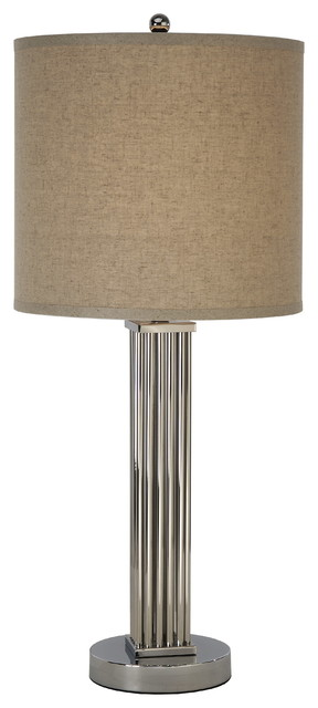 Escape Narrow Table Lamp Round Base