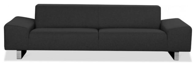 3 sitzer sofa kato anthrazit 203x99 cm modern sofas by fashion4home gmbh. Black Bedroom Furniture Sets. Home Design Ideas