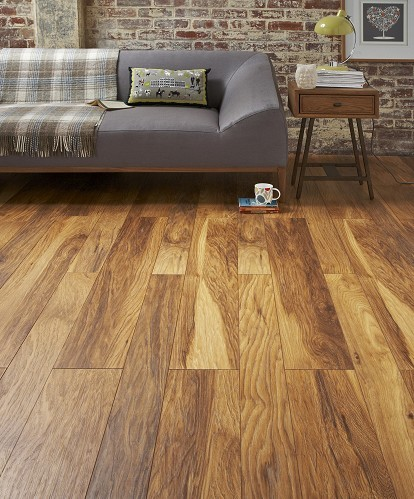Hickory Appalachian Narrow Modern Laminate Flooring