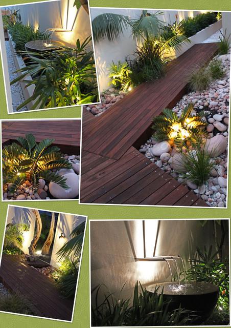 Tropical garden design ideas perth for Garden design perth